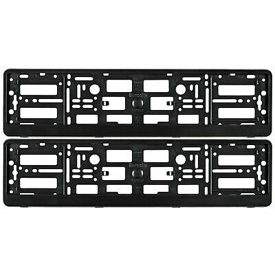 2 x Lexus Number Plate Surrounds Holder Frame For Cars