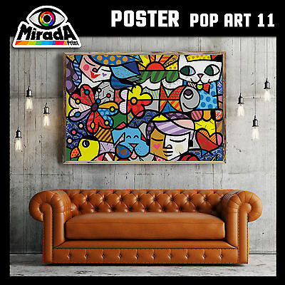 POSTER POP ART roy lichtenstein andy warhol CARTA FOTOGRAFICA 50x35 70x50 100x70