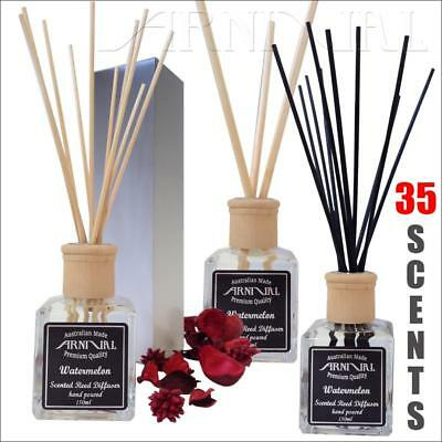 Highly scented AROMATIC REED DIFFUSER SET 150ml + STICKS FREE BOX home fragrance