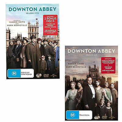 DOWNTON ABBEY season 5 & 6 + Finale, A Moorland Holiday Christmas Special DVD R4