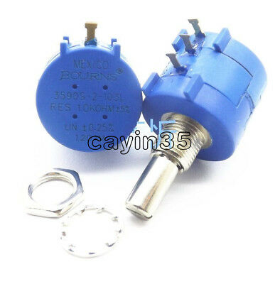 1PCS 3590S-2-103L 10K Ohm Rotary Wirewound Precision Potentiometer Pot 10 Turn