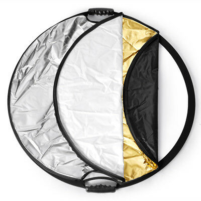 "Neewer Multi Disc 43"" Photography Reflector 5-in-1 Circular Collapsible EM#12"