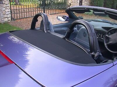 Porsche Boxster Wind Deflector 986 987 Full Size - Clear
