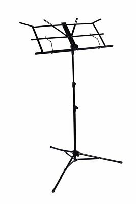Professional Lightweight Folding Portable Sheet Music Stand with Carrying Case