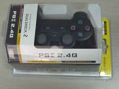 Controller Wireless Joystick Joypad Senza Fili Compatibile Ps2 Ps1 Playstation