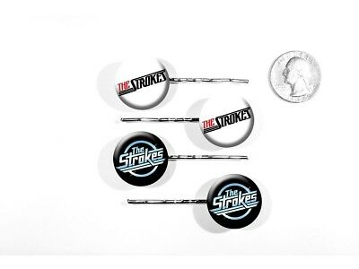 The Strokes Garage Rock 'Is This It?' New York Set of 4 Bobby Pins