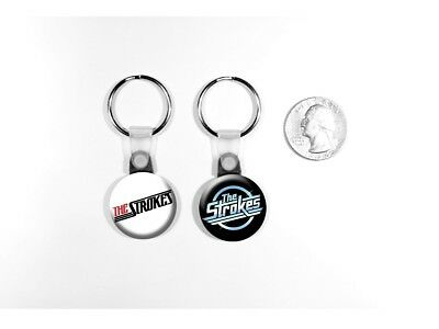 The Strokes Garage Rock 'Is This It?' New York Set of 2 Key Chains