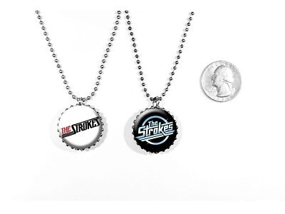The Strokes Garage Rock 'Is This It?' New York 2 Sided Necklace