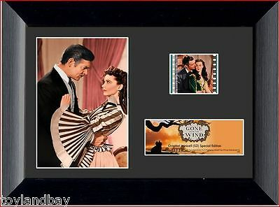 Film Cell Genuine 35mm Framed & Matted Gone With The Wind Special Edit USFC5022