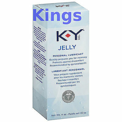 KY Jelly Lube Lubricant Big Tube 113g Vaginal Anal Rectal Dilating Fun Sex Aid
