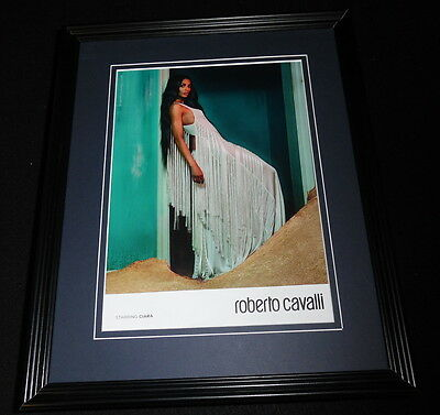 Ciara 2015 Roberto Cavalli Framed 11x14 ORIGINAL Advertisement