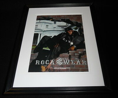 Vintage Rocawear Clothing 11x14 Framed ORIGINAL Advertisement