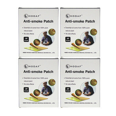 120 Patches Natural Herbal Quit Stop Anti Smoking Transdermal Nicotine Patch