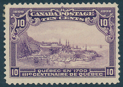 Canada Scott #101 Fine to Very Fine Centering (Mint Lightly Hinged) SCV: $200.00
