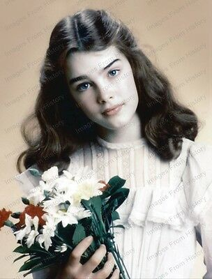 8x10 Print Brooke Shields Pretty Baby 1978 #BS53
