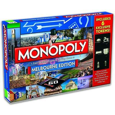 2016 Melbourne Monopoly Collector Edition Australian Family Board Games Hasbro