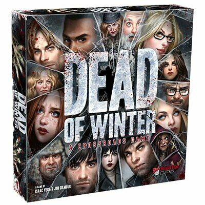 Dead of Winter: A Crossroads Game Zombie Board Game By Plaid Hat Games