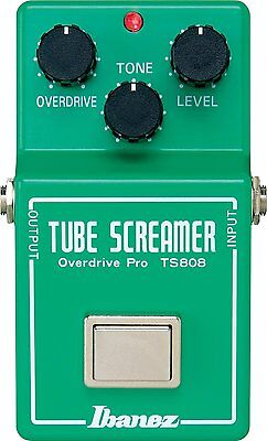 Ibanez TS808 Tube Screamer Overdrive Pro Guitar Effects Japan F/S