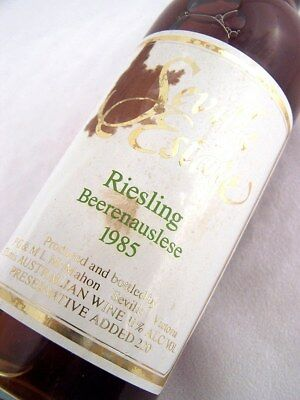 1985 Seville Estate Beerenauslese Riesling 375ml Isle of Wine