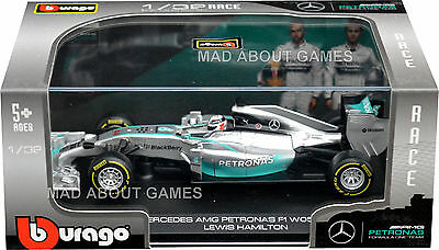 LEWIS HAMILTON F1 MERCEDES 1:32 Model Formula One Racing Car Die Cast Metal