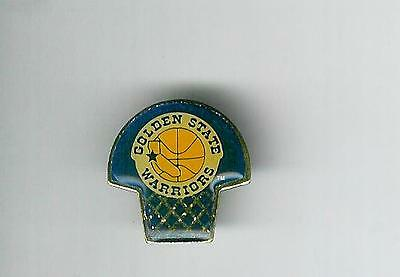 NBA : Vintage Golden State Warriors Basketball Pin Badge - New