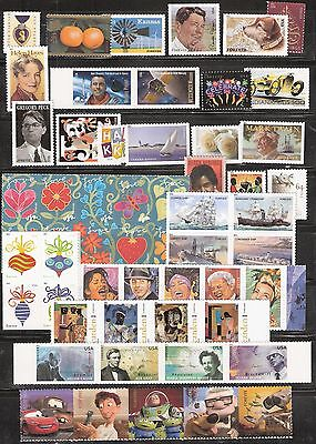 2011 US Commemorative Stamp Year Set Mint NH