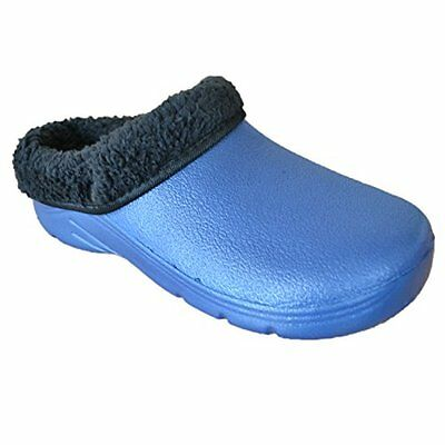 Briers Womens/Ladies Footwear Gardening Clogs With Removable Fleece Lining, Navy