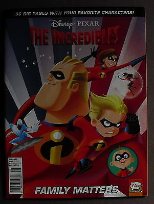 The Incredibles Family Matters Disney Pixar - 96 Pages Comic Book # 4 - 2011