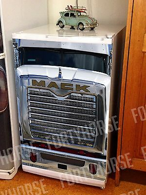 Truck Fridge Graphics - Mack - Bar Fridge