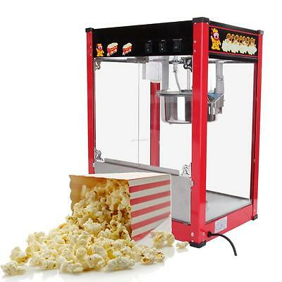 1370W 8oz Popcorn machine 3 Position Control Switch Kettle Detaches Easy Clean