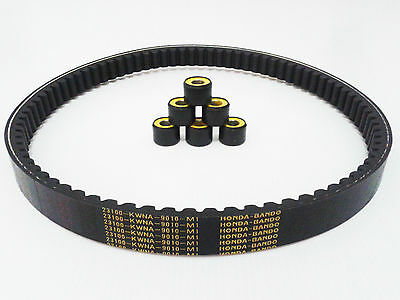 Honda PCX 125 Genuine OEM ROLLER WEIGHT and DRIVE BELT set 2009 - 2014