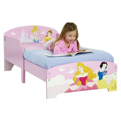 Disney Princess Toddler Bed 18 Months + Girls Pink Bedroom New Free P+P