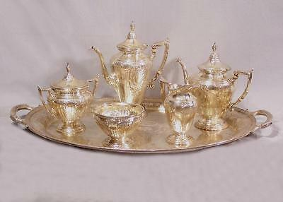 Gorham Maintenon sterling tea and coffee service