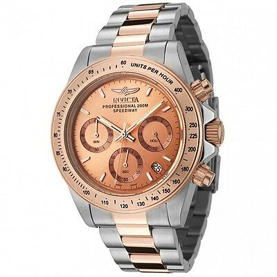 Invicta Men's Speedway Chronograph 200m Two Toned Stainless Steel Watch 6933