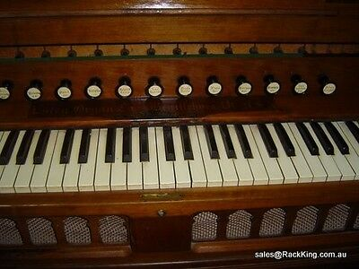 Estey Reed Organ By Wh Paling Antique Circa 1905