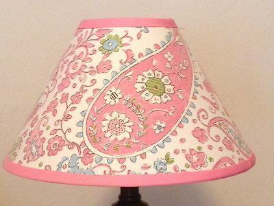 Pink Brooklyn Girl's Lamp Shade M2M Pottery Barn Kids Bedding