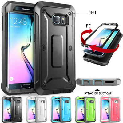 Galaxy S8 Plus S7 Case for Samsung Heavy Duty Shock Proof Fully Protective Cover