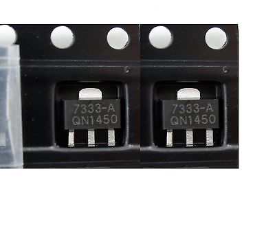 20PCS HT7333-A HT7333 3.3V SOT-89 Low Power Consumption LDO Voltage Regulator