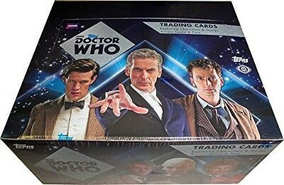 Doctor Who 2015 Sealed Box Topps Autograph Autos Rare