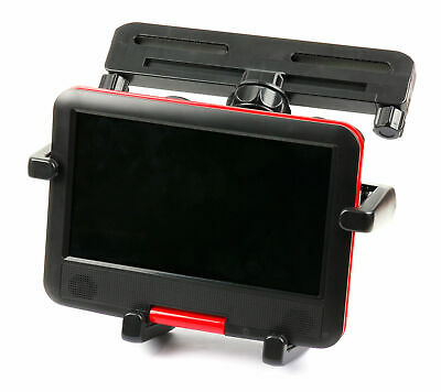 """In-Car Headrest Mount & Tray Cradle/Stand For Takara DIV Portable DVD Player 9"""""""