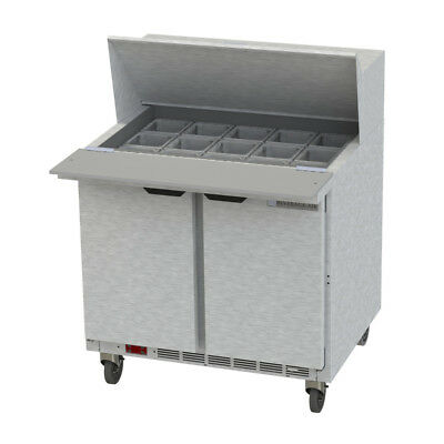 Beverage-Air Bev Air SPE36HC-15M Refrigerated Food Prep Table Mega Top