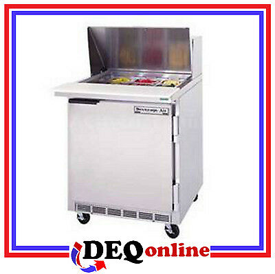 Beverage-Air Bev Air SPE27HC-12M Refrigerated Food Prep Table Mega Top