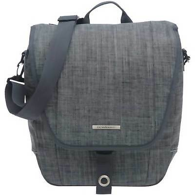 NEW LOOXS Schultertasche Avero Single 12,5L 32x33x13cm Jeans grey ca.940g 180...