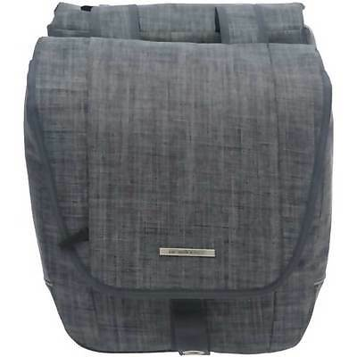 NEW LOOXS Doppelpacktasche Avero Double 25L 32x33x13cm Jeans grey ca.1490g 181..