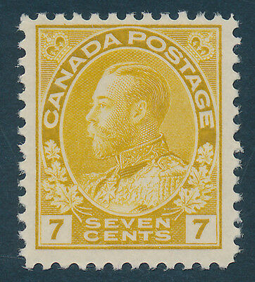 Canada Scott #113 Very Fine Centering (Mint Hinged) SCV: $75.00