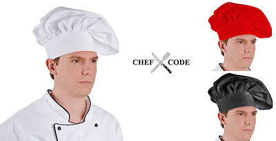 Chef Code Classic Floppy Chef Hat with Adjustable Velcro CC401