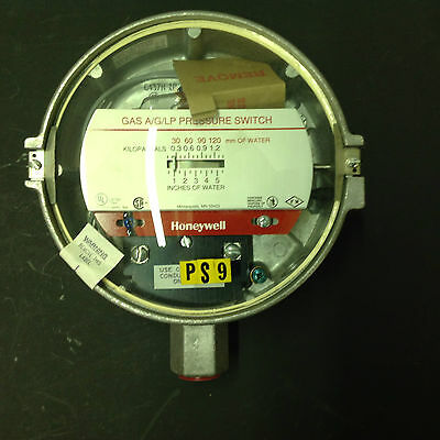 Honeywell Gas Pressure Switch C437H-1043  (B083)