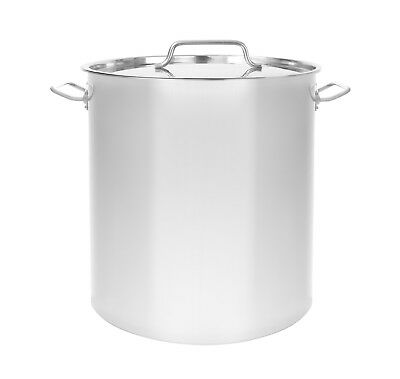 New Triply Bottom Stainless Steel Stock Pot Cookware Home Brew Kettle Mash Tun