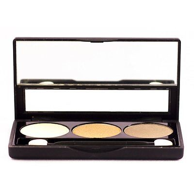 NYX Cosmetics Eyeshadow Trio TS19 Barely There/Champagne/Root Beer 2.1g