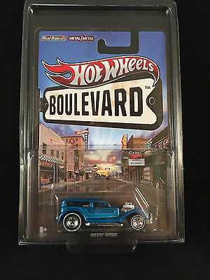 2012 Hot Wheels Boulevard Show Rods DOUBLE DEMON Real Riders w/ PROTECTO